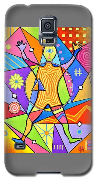 Feel The Vibes Galaxy S5 Case by Jeremy Aiyadurai