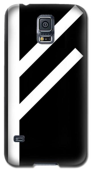 Fehu Rune Galaxy S5 Case