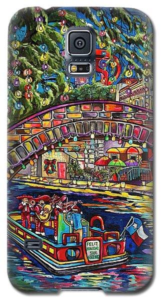 Feliz Navidad San Antonio Galaxy S5 Case