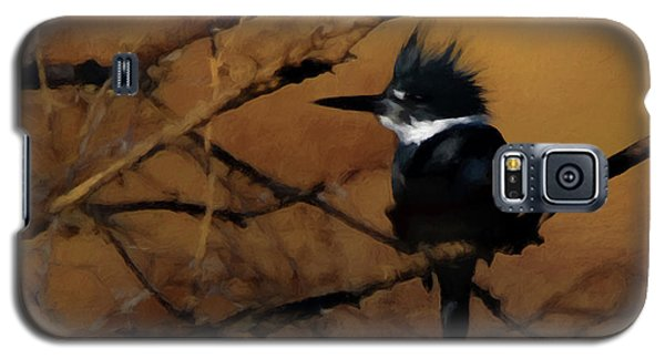 Galaxy S5 Case featuring the digital art Female Belted Kingfisher 2 by Ernie Echols