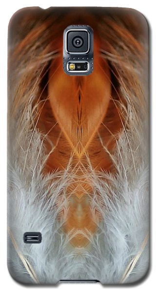 Female Feathers Galaxy S5 Case