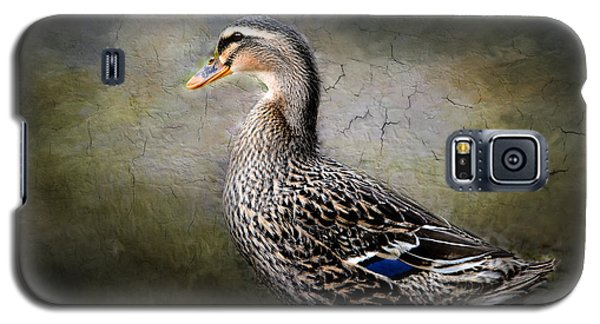 Galaxy S5 Case featuring the photograph Female Mallard by Brenda Bostic
