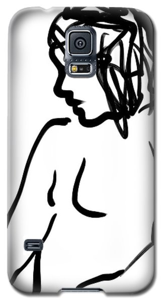 Female Nude Galaxy S5 Case