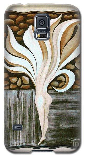 Female Petal Galaxy S5 Case