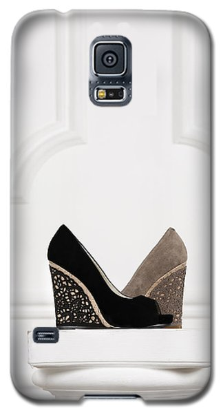 Galaxy S5 Case featuring the photograph Female Shoes by Andrey  Godyaykin