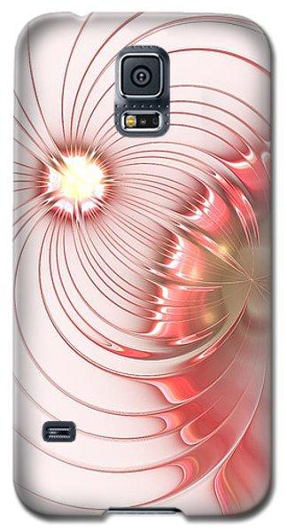 Galaxy S5 Case featuring the digital art Feminism by Anastasiya Malakhova