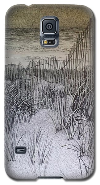 Fence In The Dunes Galaxy S5 Case