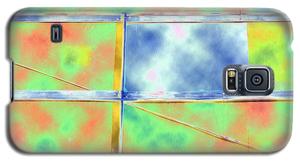 Fence Me In Colorfully Galaxy S5 Case
