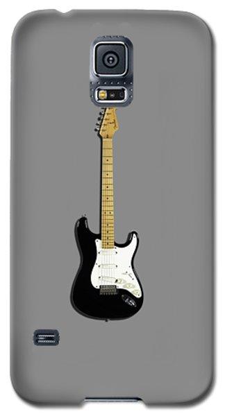 Fender Stratocaster Blackie 77 Galaxy S5 Case by Mark Rogan