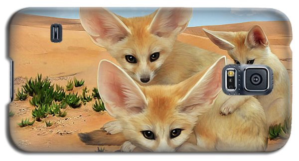 Fennec Foxes Galaxy S5 Case by Thanh Thuy Nguyen