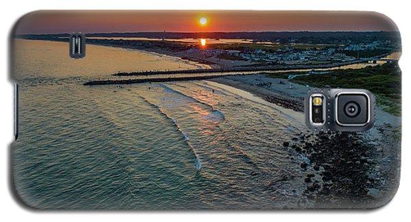Fenway Beach Sunset Galaxy S5 Case