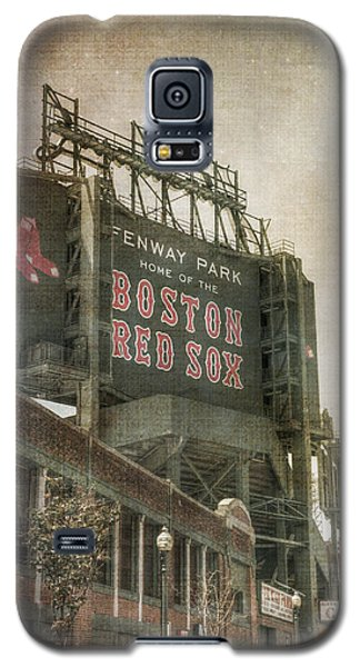 Fenway Park Billboard - Boston Red Sox Galaxy S5 Case by Joann Vitali