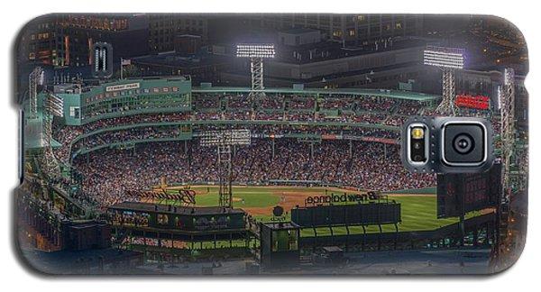 Babe Ruth Galaxy S5 Case - Fenway Park by Bryan Xavier