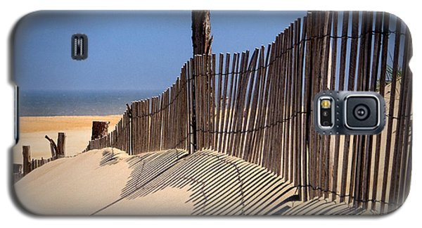 Fenwick Dune Fence And Shadows Galaxy S5 Case