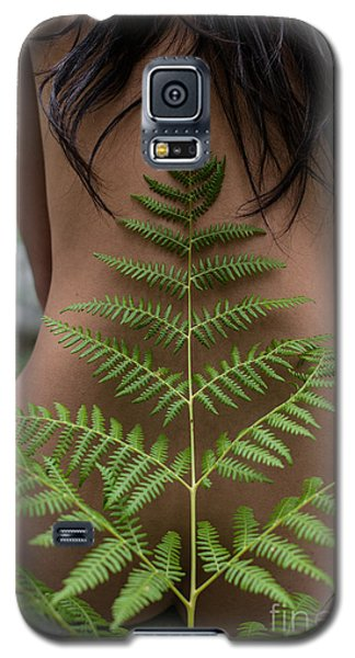 Fern And Woman Galaxy S5 Case