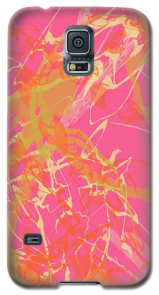 Fern Palette Painting #1 Galaxy S5 Case
