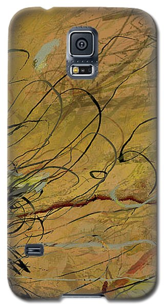 Fern Series Ping To Gray Tendril Detail Galaxy S5 Case