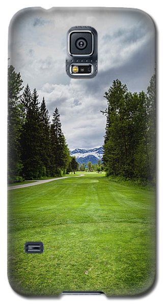Galaxy S5 Case featuring the photograph Fernie Tee Box by Darcy Michaelchuk