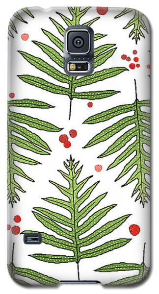 Ferns And Scattered Lychees Galaxy S5 Case