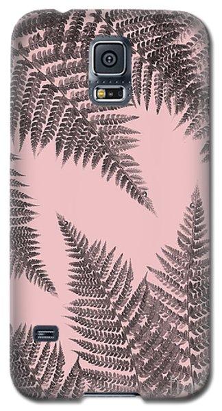 Ferns On Blush Galaxy S5 Case