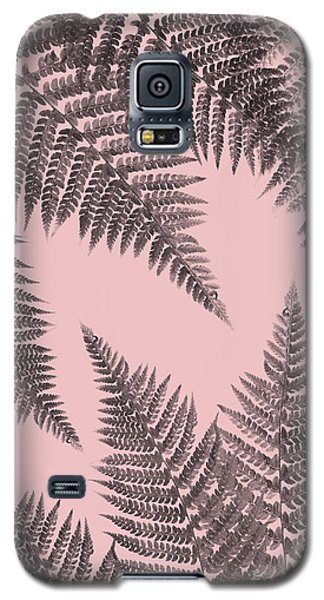 Ferns On Blush Galaxy S5 Case