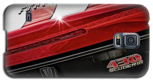 Galaxy S5 Case featuring the photograph Ferrari 430 Scuderia by Brad Allen Fine Art