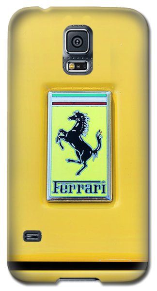 Ferrari Badge Galaxy S5 Case by Theresa Tahara