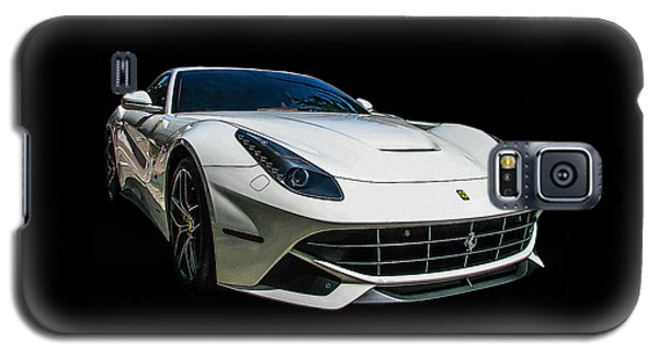 Ferrari F12 Berlinetta In White Galaxy S5 Case