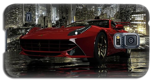 Galaxy S5 Case featuring the photograph Ferrari F12berlinetta by Louis Ferreira