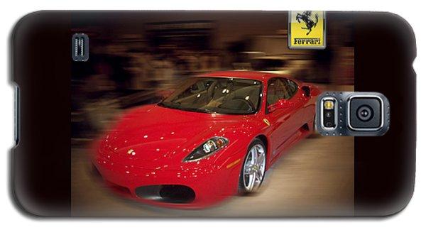 Ferrari F430 - The Red Beast Galaxy S5 Case by Serge Averbukh