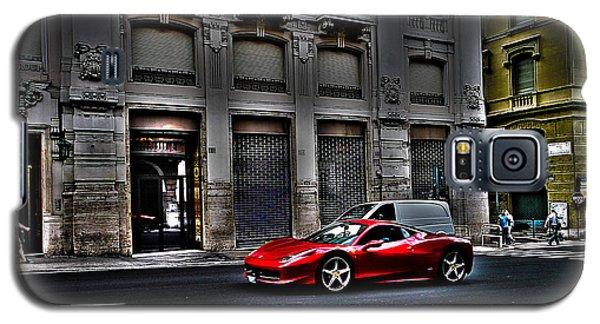 Ferrari In Rome Galaxy S5 Case by Effezetaphoto Fz
