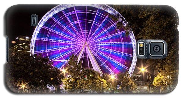 Ferris Wheel At Centennial Park 1 Galaxy S5 Case