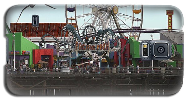 Ferris Wheel At Santa Monica Pier Galaxy S5 Case