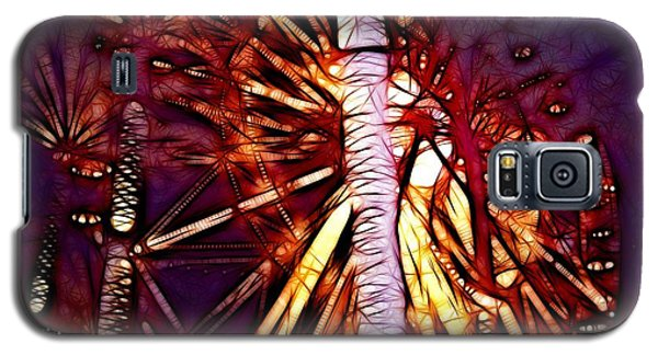 Galaxy S5 Case featuring the photograph Ferris Wheel  by Mariola Bitner