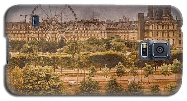 Paris, France - Ferris Wheel Galaxy S5 Case