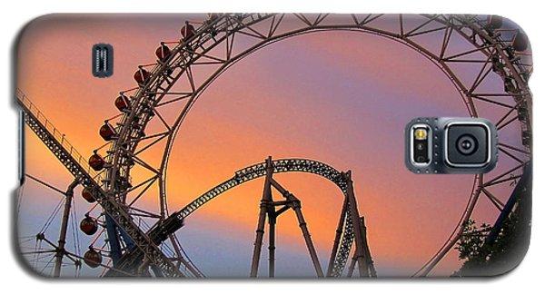 Ferris Wheel Sunset Galaxy S5 Case