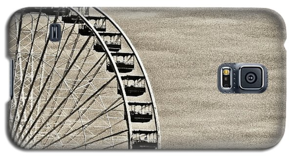 Ferris Wheel In Sepia Galaxy S5 Case