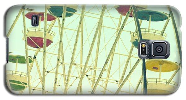 Ferris Wheel Galaxy S5 Case by Valerie Reeves