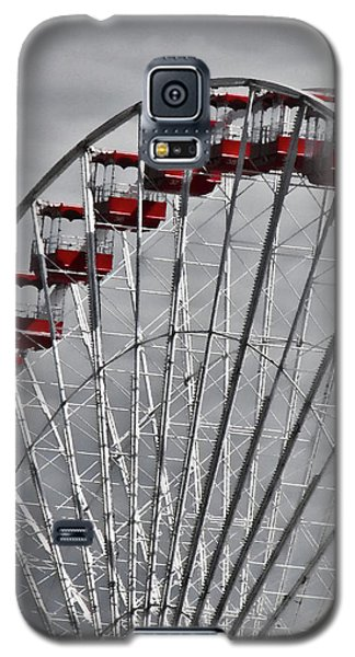 Ferris Wheel With Red Chairs Galaxy S5 Case