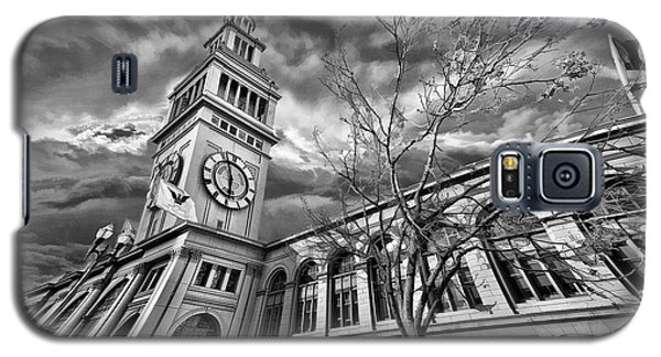 Ferry Building Black  White Galaxy S5 Case