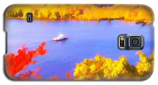 Ferry Crossing Connecticut River. Galaxy S5 Case