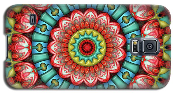 Galaxy S5 Case featuring the digital art Festival 2 by Wendy J St Christopher