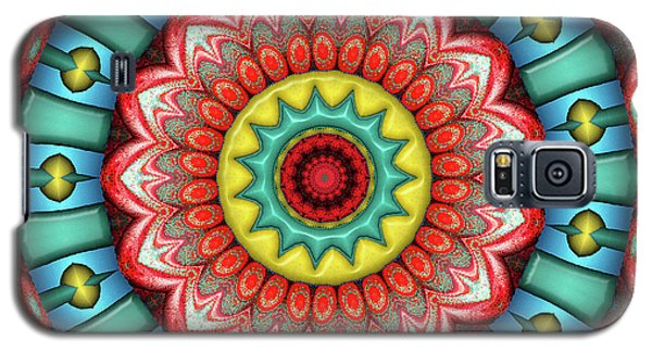 Galaxy S5 Case featuring the digital art Festival 3 by Wendy J St Christopher