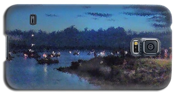 Galaxy S5 Case featuring the photograph Festival Night Land And Shore by Felipe Adan Lerma