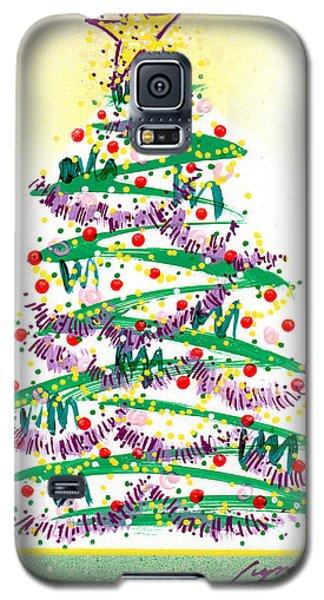 Festive Holiday Galaxy S5 Case