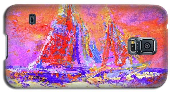 Festive Sailboats 11-28-16 Galaxy S5 Case