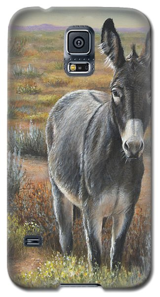 Galaxy S5 Case featuring the painting Festus by Kim Lockman