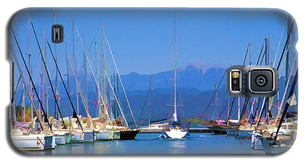 Fethiye Harbour Galaxy S5 Case by Rob Tullis