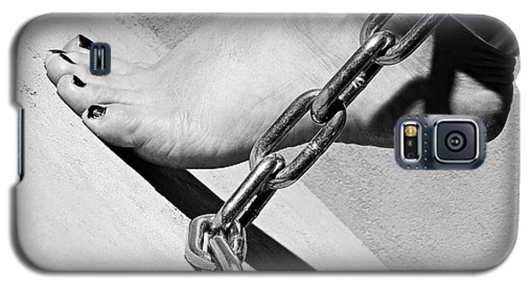 Fetish Shackled Or Cuffed Feet Galaxy S5 Case