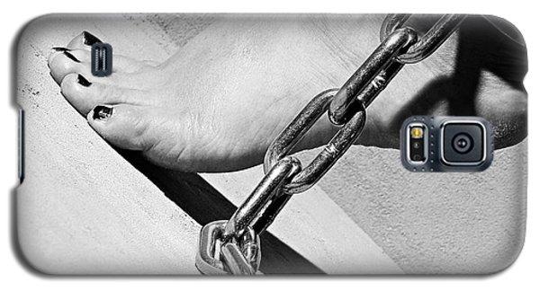 Fetish Shackled Or Cuffed Feet Galaxy S5 Case